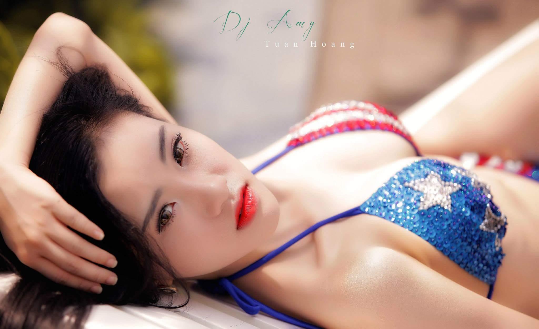 DJ My Bé Bỏng bikini sexy summer photo Tuấn Hoàng