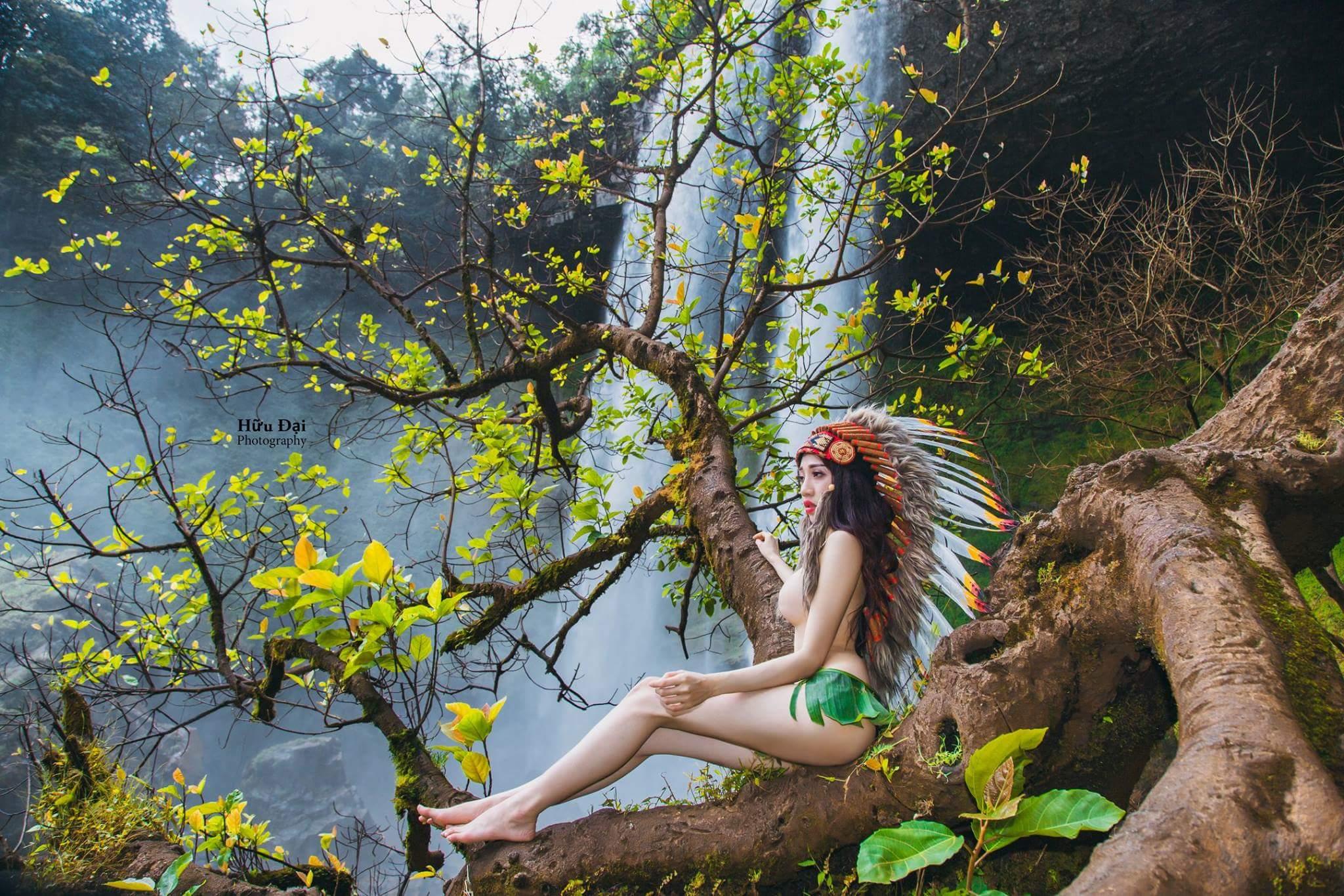 Nhi Tưng nữ thổ dân cực gợi tình photo Hữu Đại