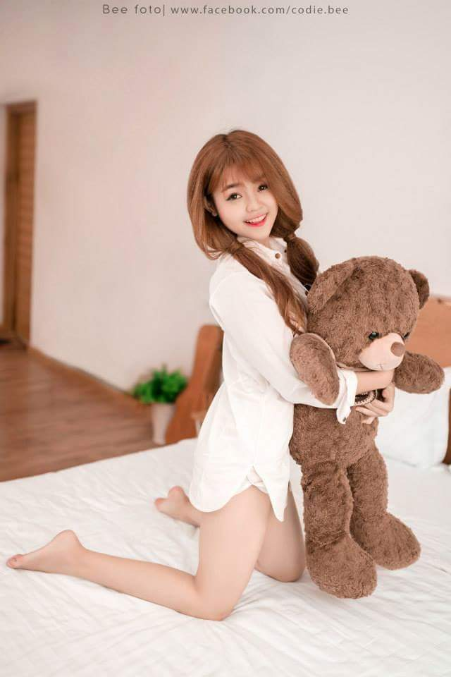 Hot girl Su Râu Nguyễn Thị Như Thơ 9x xinh như hoa