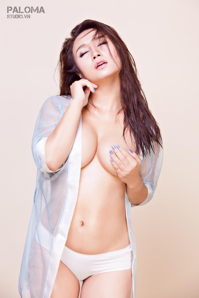 Hot girl Christina Hải Âu siêu mỏng manh photo Paloma Studio