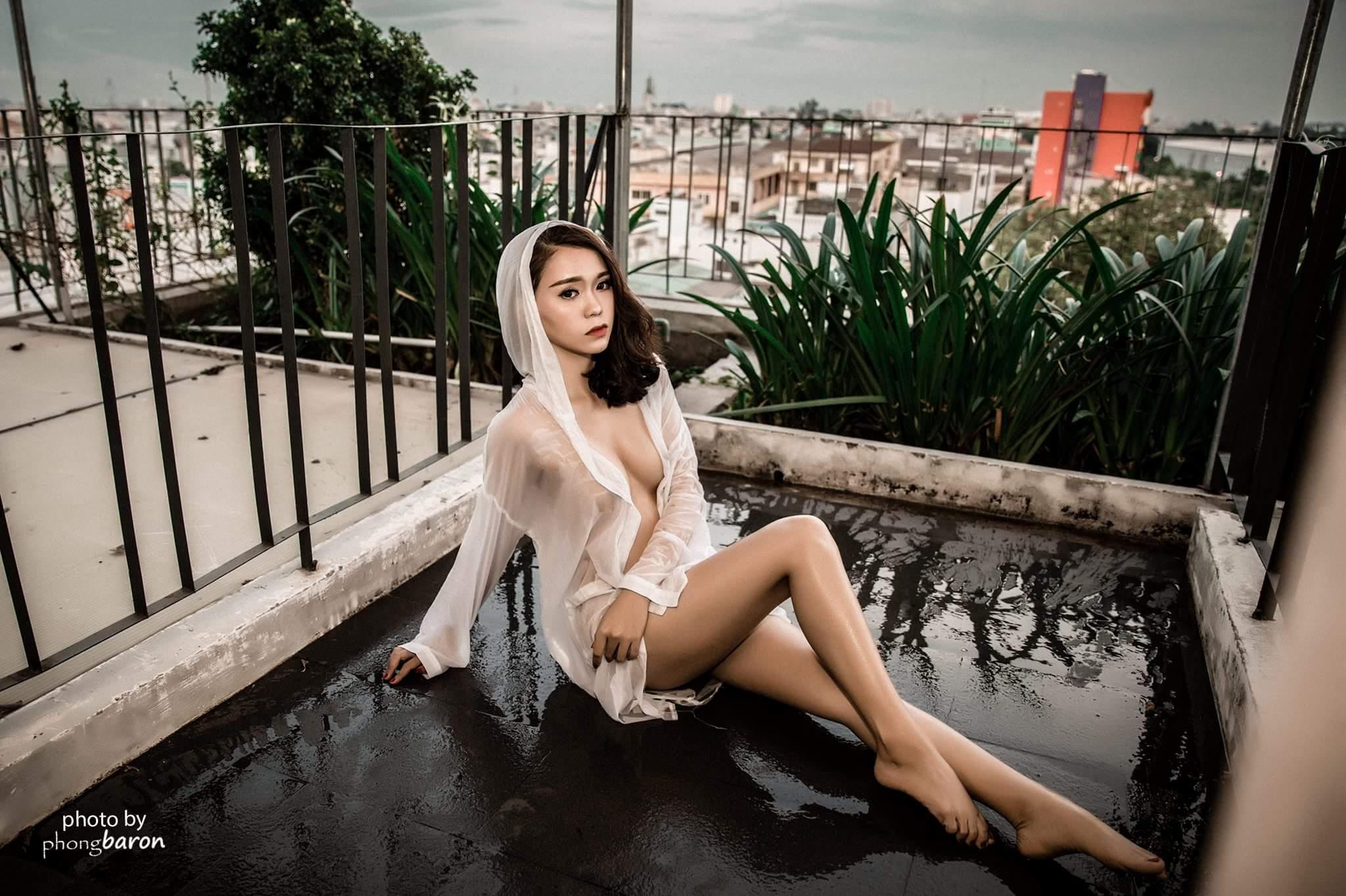 Pim Lê photo Trần Phong Baron Studio