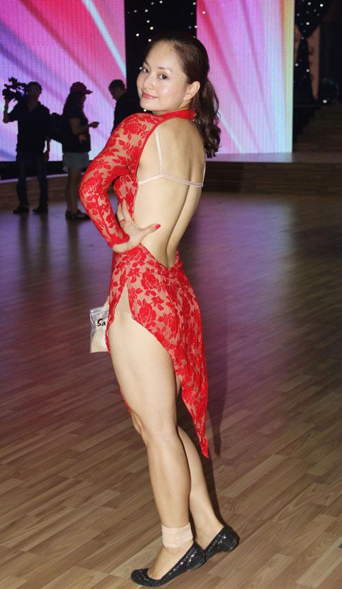Diễn viên Lan Phương sexy quý cô nóng bỏng