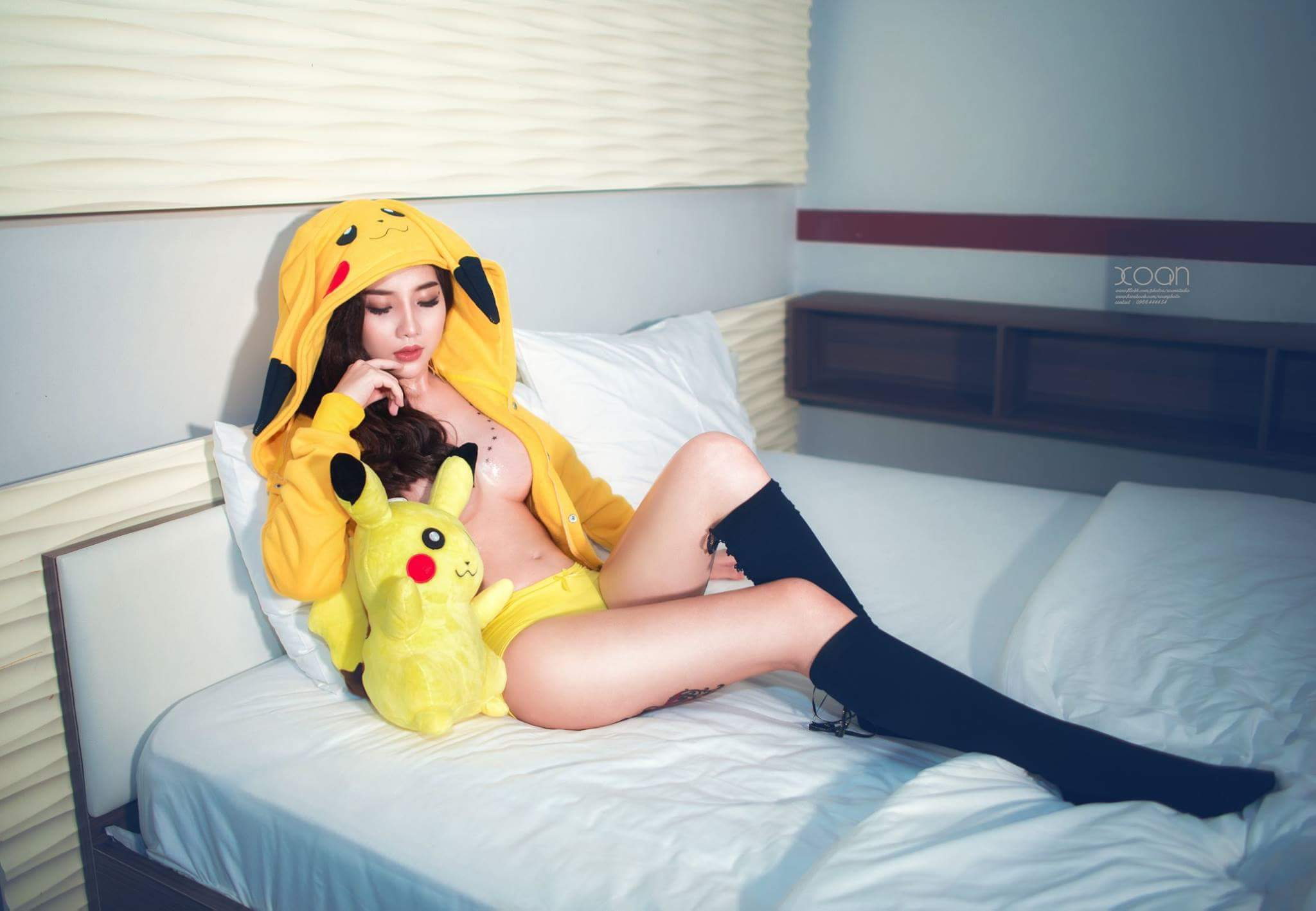 Hot girl Mèo Nice hóa thân Pokemon Go sexy tuổi 16